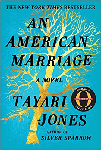Book cover: An American Marriage by Tayari Jones